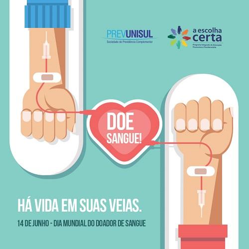 Dia do Doador de Sangue 2017