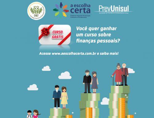 6ª Semana Nacional de Educação Financeira – ganhe um curso sobre finanças pessoais