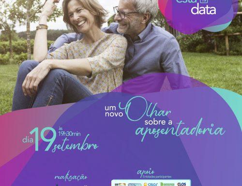 Reserve a data – 19 de setembro – Um Novo Olhar sobre a Aposentadoria