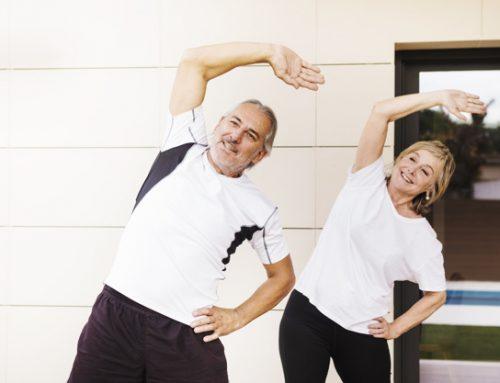 Exercícios relaxantes para a terceira idade