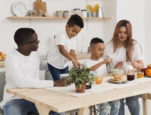Como aproveitar o tempo livre com seus filhos sem sair de casa